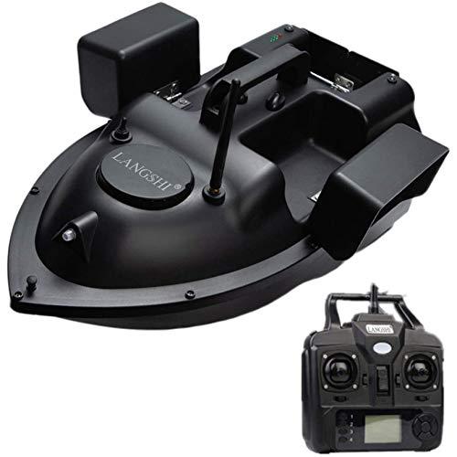 LANGSHI Angelköder-Boot RC Boot 500M Entfernung GPS Köder-Boot GPS Postion Auto Cruise Fernbedienung Angelköder-Boot Mit Doppel Motors,12000mAh