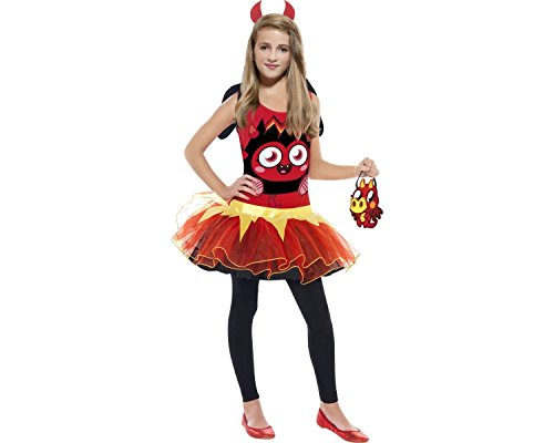 Déguisement - 355105 - Moshi Monsters Diavlo Costume Female Small Age 4-6 Ans