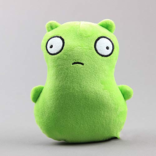 n\a Bobs Burgers Kuchi Kopi Plush Toy Kids Gift Green Monster Soft Stuffed Dolls Kids Gift Toys 17CM