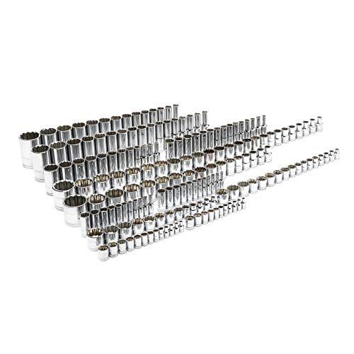 """GEARWRENCH 176 Pc. ¼"""", 3/8"""", & ½"""" Dr. 12 Pt. Master Socket Set- 89074"""