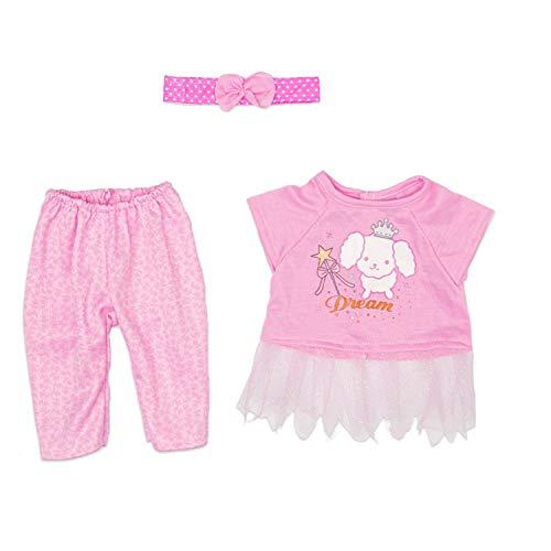 ZEEREE Vestiti Bambole per New Born Baby Doll per Bambolotti 18 ' (40-45 cm)