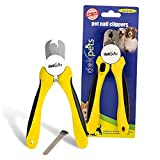 Die besten Dog Clippers Blades - DakPets Professional-Grade Dog Nail Clippers with Protective Guard Bewertungen