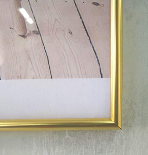 YAOHM Classic minimalistische aluminium 11x14 inch muur opknoping metalen fotolijst certificaat frame past 8x10 inch foto's