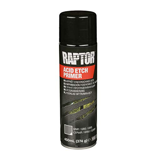 Raptor UPOL Acid Etch Primer 450ml Spray NEU