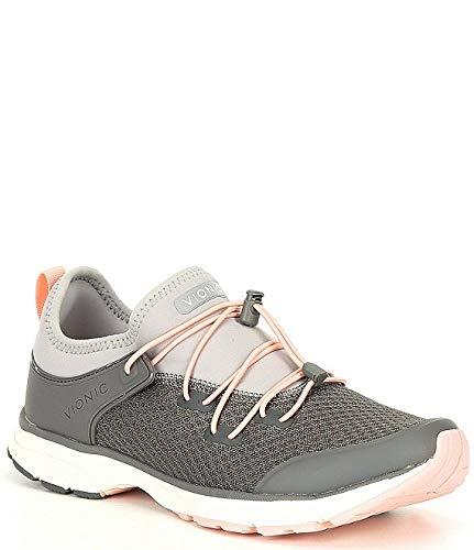 [バイオニック] シューズ 22.0 cm スニーカー London Bungee Lace Closure Sneakers Charcoal レディース [並行輸入品]