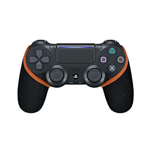 Smartgrip - Schwarz/Orange - Der ultimative PS4 Controller Überzug/Hülle mit patentierter Technologie - Made in Germany
