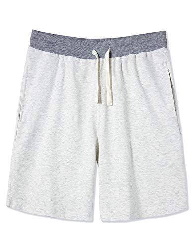 UNIFACO Pantaloncini Leggeri da Uomo Club Shorts Sciolto Classico Pantaloncini Sportivi Uomini con Elastico in Vita