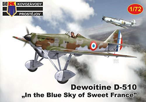 KP model KPモデル 1/72 フランス空軍 デボワチン D.510 プラモデル KPM0179