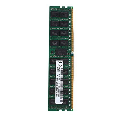 Monland Servidor DDR4 16GB 2RX4 PC4-2133P 2133MHz 288PIN 1.2V REG ECC DIMM Memoria de PC
