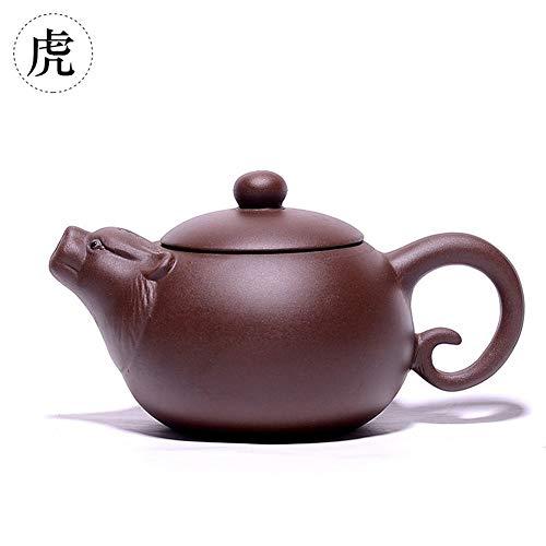 YUXINXIN Tetera Esfuerzo Tetera de té del té del Zodiaco (Color : Tiger)