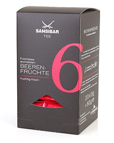 Sansibar Tee Nr. 6 Beerenfrüchte, aromatisiert