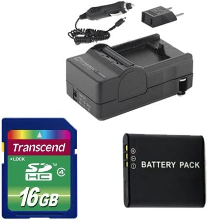 Ricoh WG-4 Digital Opening large release sale Camera Accessory SDDLi92 Batter Includes: Today's only Kit