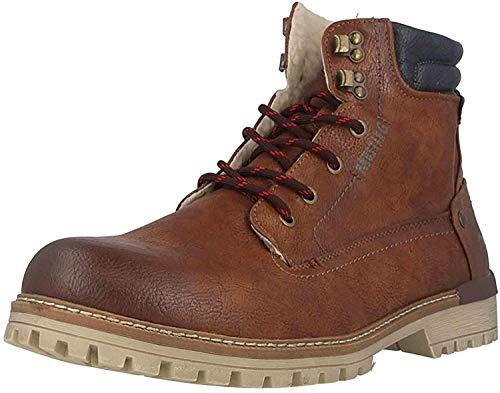 MUSTANG Shoes Boots in Übergrößen Braun 4142-602-301 große Herrenschuhe, Größe:47