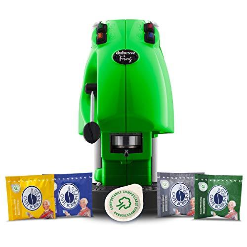 macchina caffe didiesse Didiesse Frog Revolution Magica Emozione pack (Macchina da Caffè a Cialde + 60 capsule)