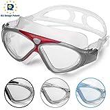 Schwimmbrille Erwachsene Anti Fog Ohne Leakage deutlich Anblick UV Schutz 180Weitsicht Einfach zu...