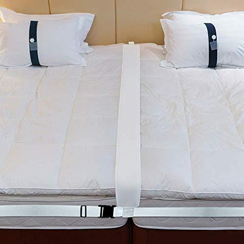 Goodtimera Bed Gap Filler King, Bed Bridge Twin Connector Mattress Juego De Convertidor De Doble A Rey, Relleno para Mejorar La Calidad del Sueño