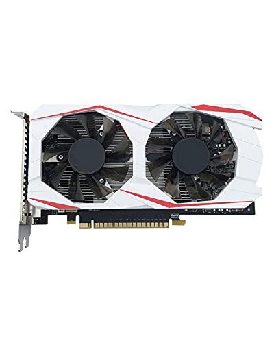 GUOQING Tarjetas gráficas Independientes de refrigeración líquida GPU Original Fit For GTX750Ti 2GB 128bit GDDR5 Tarjeta de Video GTS450 PCI Express 2.0 Apta Fit For NVIDIA Geforce