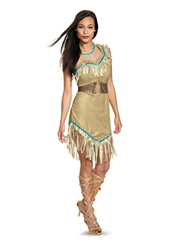 Disguise Womens Deluxe Pocahontas Costume X-Large Brown