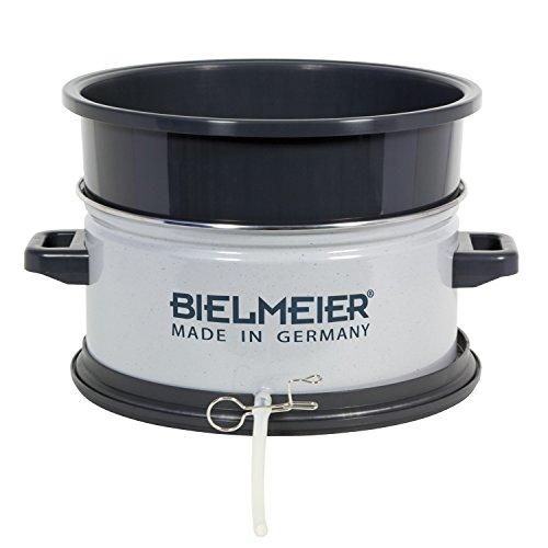 Bielmeier 430000 BHG 430 Entsafter-Aufsatz, Kunststoff/Emaille, Grau Gesprenkelt/Schwarz