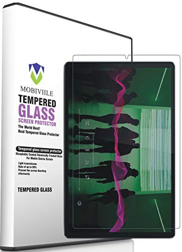 MOBIVIILE® Screen Protector Compatible with Lenovo Tab M10 Plus FHD 10.3 inch(2nd Gen) TB-X606V Tempered Glass Anti-Fingerprint HD Scratch Resistance Film