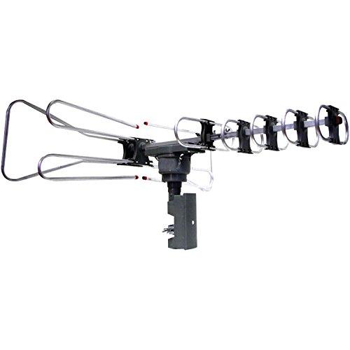 naxa outdoor tv antennas Naxa Electronics NAA-350 High Powered Amplified Motorized Outdoor Antenna Suitable for HDTV and Atsc Digital Television
