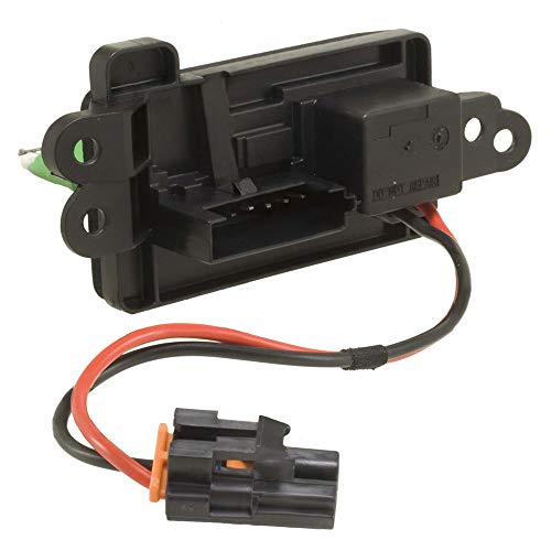 Manual Temp Control Blower Motor Resistor Compatible with Chevy 03-06 Avalanche Silverado Suburban 1500 2500 3500 - Sierra 1500 2500 3500 / Yukon XL 1500 973009 973405 RU571 15305077 89018308