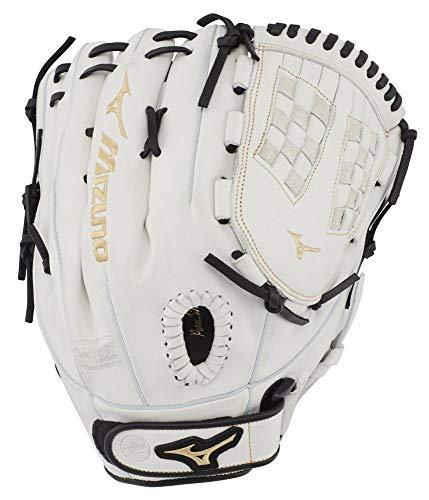 Mizuno GMVP1250PF3W MVP Prime Fastpitch Softball Gloves, 12.5