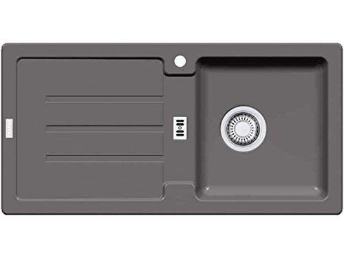 Franke Strata STG 614 - Fregadero de granito, color gris oscuro