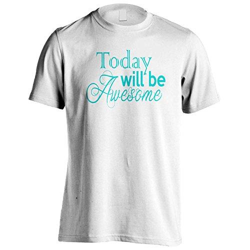 Heute Werden Ehrfürchtig lustige Neuheit-Geschenk neu Herren T-Shirt b85m