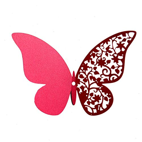 Party Paper Decorations 12Pcs Half Hollow 3D Butterfly Wall Sticker for Wedding Home Decoration Butterflies On The Wall Rooms Decor Multicolor Stickers