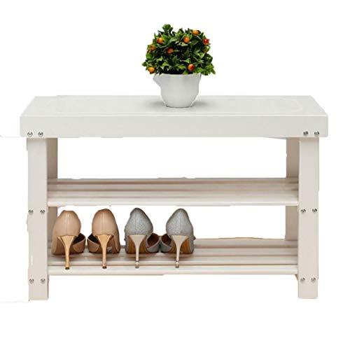 HEMFV Simplifique el banco de almacenamiento, El organizador de estantes anchos de la rejilla for zapatos de 3 niveles es ideal for el baño de entrada en el pasillo Jardín de múltiples tamaños disponi