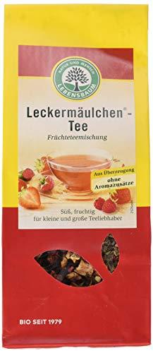 Lebensbaum Früchtetee Lose - Leckermäulchen -Tee, 100 g