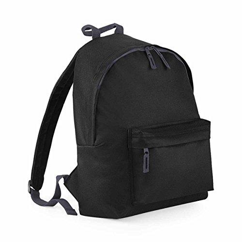 Bagbase Fashion Rucksack, 18 Liter One Size,Black