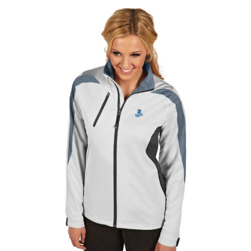 Antigua MLB Damen Jacke Kansas City Royals Discover White/Smoke/Silver, Large
