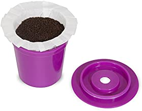 Perfect Pod EZ-Cup 2.0 Starter Pack | Reusable K-Cup Coffee Pod Capsule with 25 Disposable Paper Filters (Starter Pack)