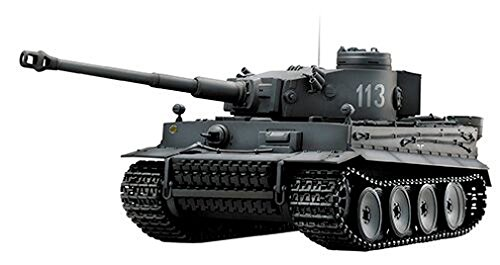 1/24 RCバトルタンク タイガーI (ジャーマングレー)