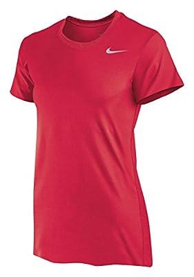 Nike Women's Legend Shirt (Large, Scarlet)