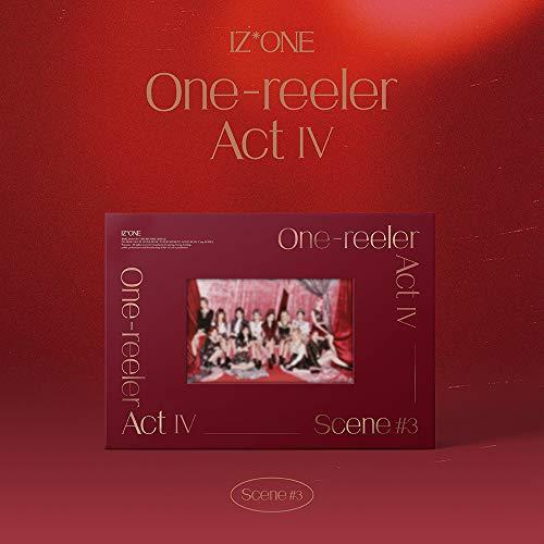 アイズワン - One-reeler Act IV [Scene #3 ver.] (4th Mini Album) CD+フォトブック+フォトカード+Folded Poster [KPOP MARKET特典: 追加特典両面フォトカードセット][韓国盤]
