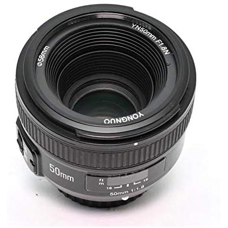 YONGNUO YN50mm F1.8N AF/MF Standard Prime Lens per Nikon D7100 D5500 D810a D800