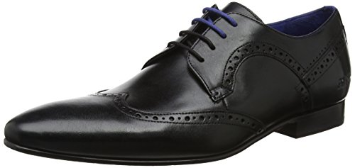 Ted Baker Ollivur Mens Brogue Shoes in Black - 11 US