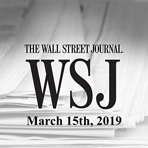March 15, 2019                   By:                                                                                                                                 The Wall Street Journal                               Narrated by:                                                                                                                                 Keith Sellon-Wright                      Length: 22 mins     7 ratings     Overall 4.1