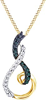 Jewel Zone US 6.0mm Simulated Garnet Crown Pendant in 14K Gold Over Sterling Silver