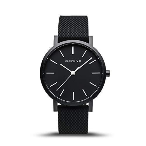 BERING Unisex Analog Quartz Uhr mit Silikon Armband 16934-499