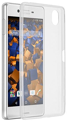 mumbi Hülle kompatibel mit Sony Xperia X Handy Hülle Handyhülle dünn, transparent