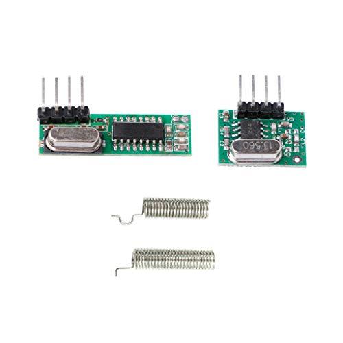 xiaoyao24 Superheterodyne RF receptor transmisor módulo antenas Kit