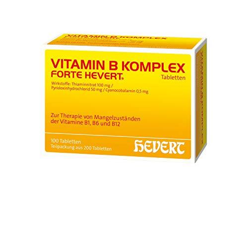 Vitamin B Komplex forte Hevert Tabletten, 200 St. Tabletten