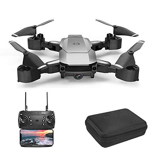 XIAOKEKE A20 Drone WiFi FPV 4K HD Camera, Best Drone for Beginners with Altitude Hold, VR Vision, G-Sensor, Trajectory Flight, 3D Flips, Headless Mode, One Key Operation, Smart Follow,Silver