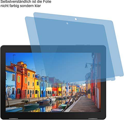 4ProTec I 2X ANTIREFLEX matt Schutzfolie für Trekstor SURFTAB B10 Displayschutzfolie Bildschirmschutzfolie Schutzhülle Displayschutz Displayfolie Folie