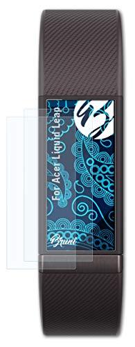 Bruni Schutzfolie kompatibel mit Acer Liquid Leap Folie, glasklare Bildschirmschutzfolie (2X)