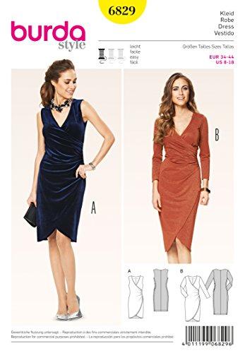 Burda Schnittmuster Kleid 6829